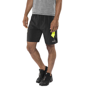 GORE WEAR R5 2in1 Shorts Men black/neon yellow